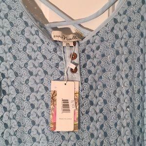 Simply Noelle Tops - Gorgeous shirt! SFH NWT! 2X